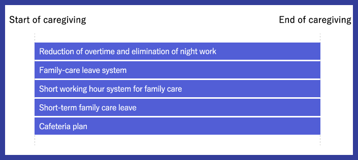 Support systems for family care