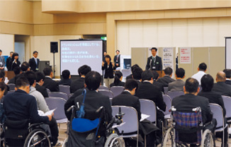 Joint interview sessions for people with disabilities in AISIN Group