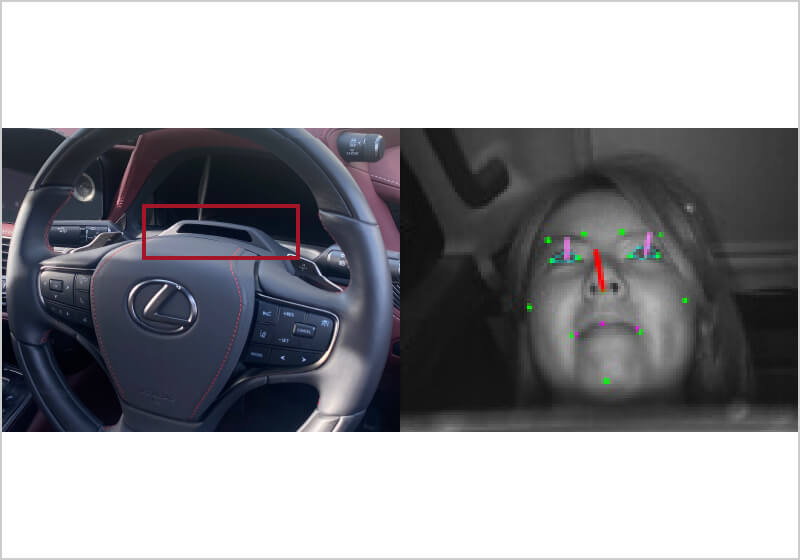 驾驶员监测系统