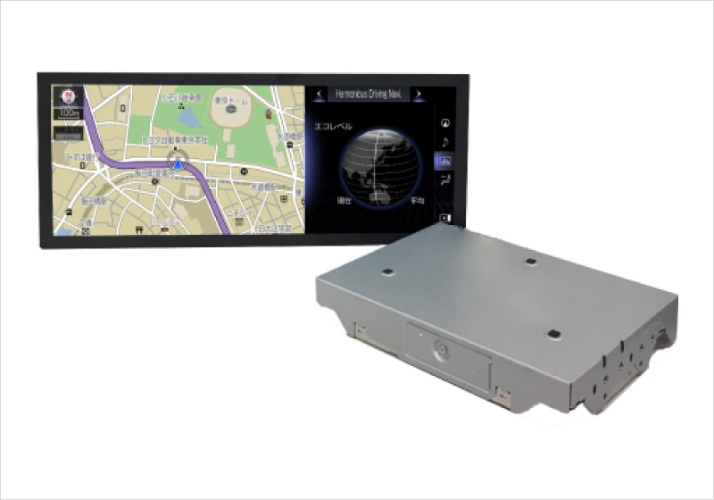 LEXUS Voice Car Navigation System for Japan, and North America