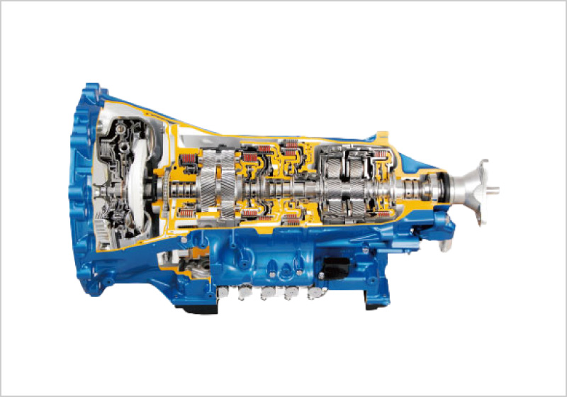 High Torque Capacity RWD 10-Speed Automatic Transmission