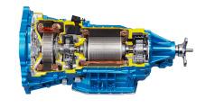 RWD hybrid transmission