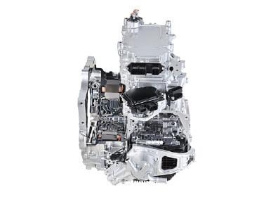 1-motor hybrid transmission