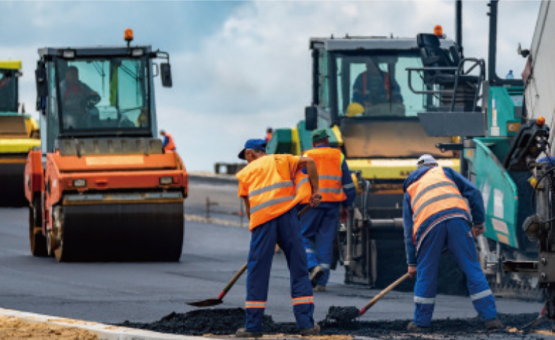 Road maintenance and management support service