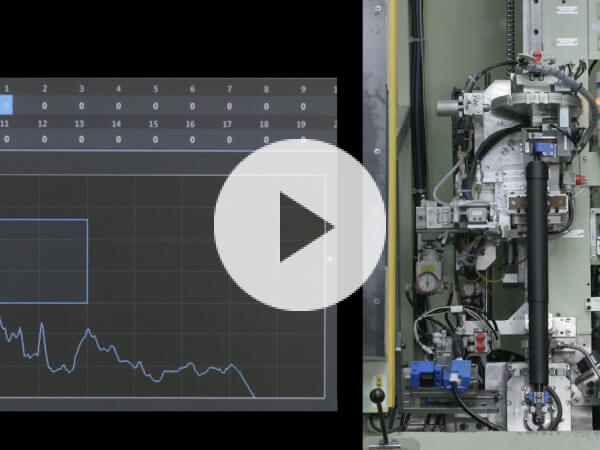 Operating noise inspection technique with FFT analysis