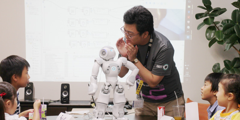 NAOロボット プロジェクト